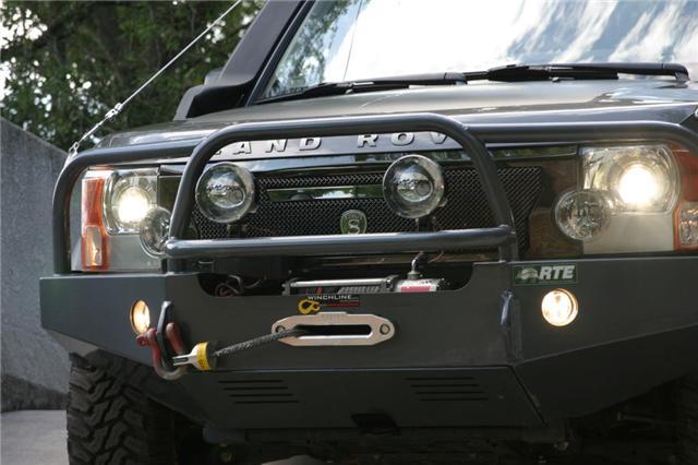 LR3 front bumper 1