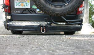 LR3 Rear Bumper 1