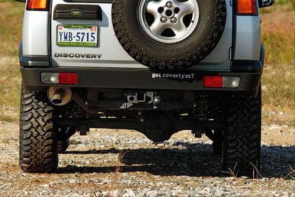 discovery 2 rear winch bumper
