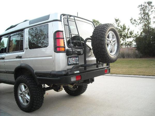 Discovery 2 Swing Away Rear Tire Bumper