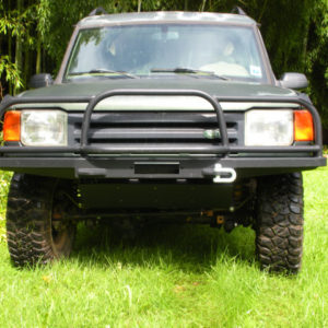 Slim Line Front bumper full brush bar