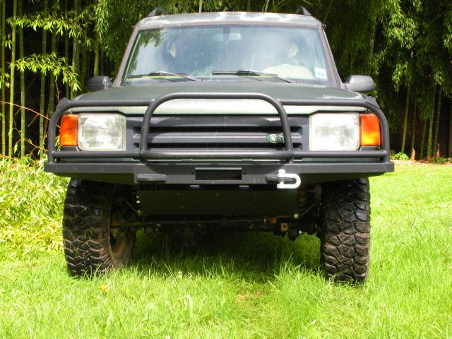 Slim Line Front bumper full brush bar