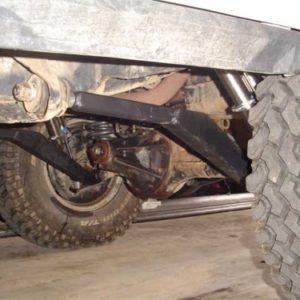 rear links installed