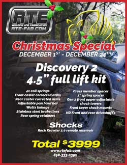 "Discovery 2 4-5"" full lift kit sale"