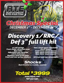"Discovery 1, RRC, an Defender 3"" full lift kit sale"